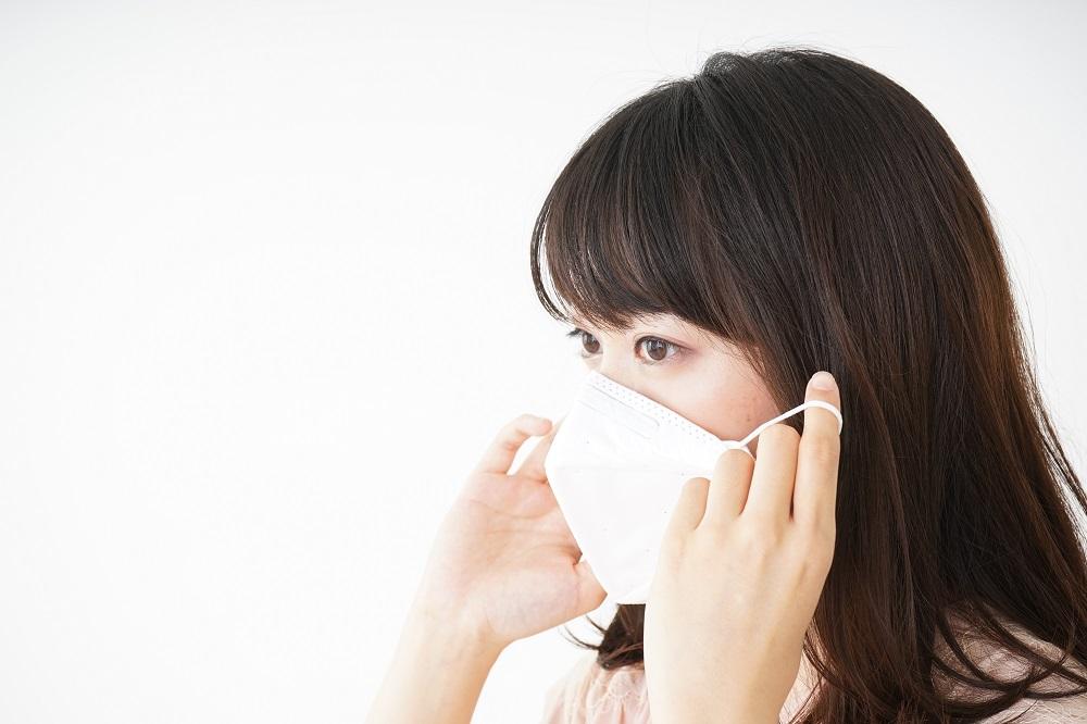 マスクのつけ方、保管はどうしていますか?
